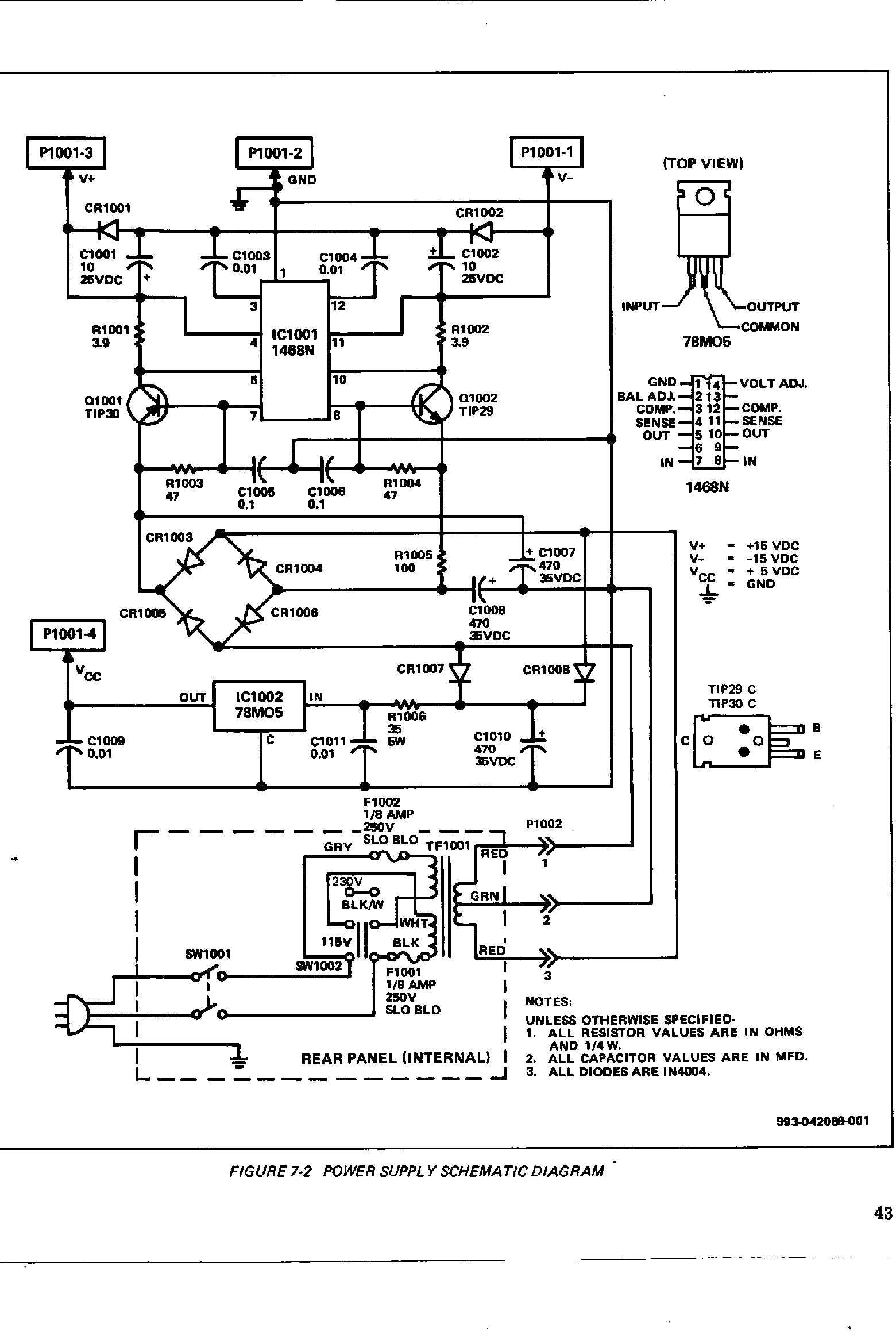 Synthfooldocsmoogtaurus 1 Voyager Circuit Diagram Taurus Power Supply