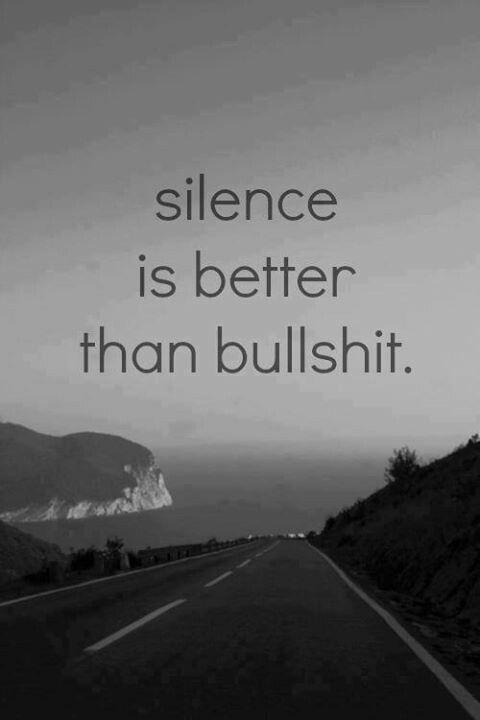 Silence VS BS