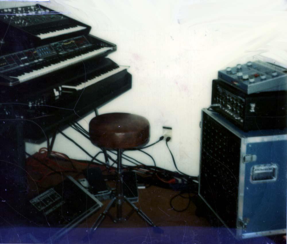 Kevin's gear, circa 1980