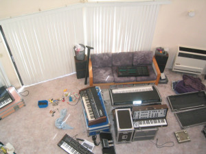 Living room, December 2006
